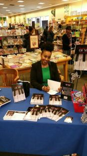 Barnes and Nobles Book Signing 2-20-16 Bowie,MD